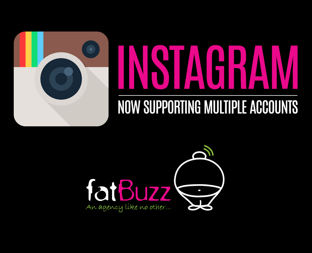 how to add multiple instagram accounts