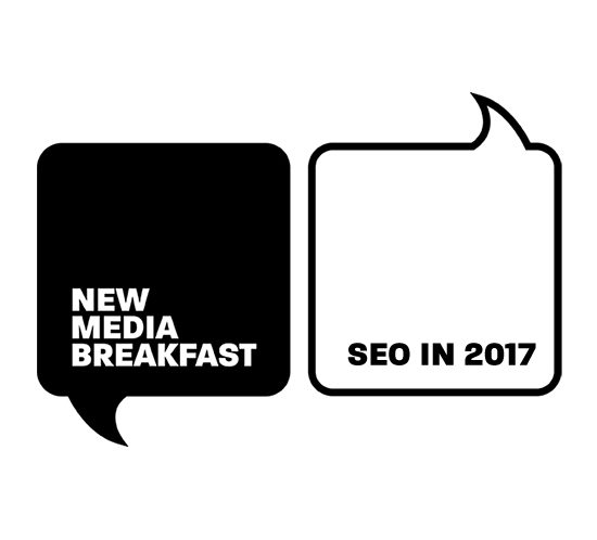 New Media Breakfast and SEO icon
