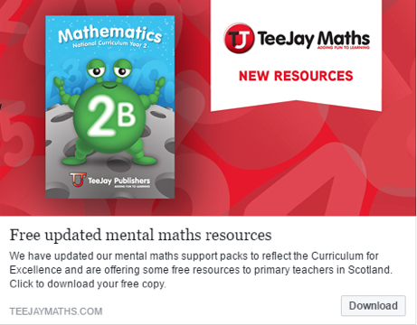 TeeJay CfE Maths: Textbook 2b