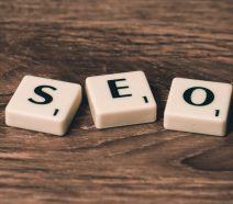 Search Engine Optimisation acronym tiles