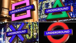 PS5 London Underground signs